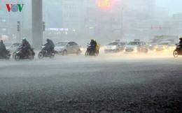 Thời tiết 13/9: Hà Nội có mưa rào và dông về đêm