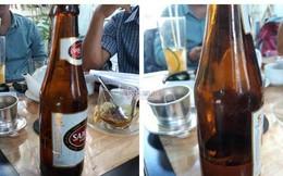Chai bia chỉ có 1/4, Sabeco bị đòi nâng mức bồi thường lên 1 triệu USD