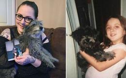 Nhận nuôi chú chó già vì thấy quen, người phụ nữ không ngờ được hội ngộ người bạn nhỏ từng chia xa lúc thơ ấu