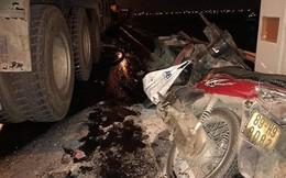 Tài xế container tông người rơi khỏi cầu Thanh Trì đối diện án phạt nào?