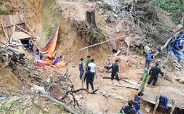 Công an Quảng Nam đột kích mỏ vàng Bồng Miêu, đẩy đuổi cả trăm 'vàng tặc'