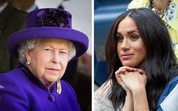 Nữ hoàng Anh yêu cầu mọi người không được nhắc đến Meghan Markle trước mặt mình