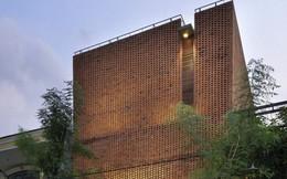 Ngôi nhà mộc đẹp mê hoặc nhờ nghệ thuật xếp gạch tuyệt tác