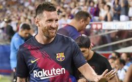 Beckham chính thức mời Messi tới Mỹ thi đấu!