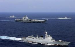 Ấn Độ theo dõi sát sao nhóm tàu chiến Trung Quốc ở Ấn Độ Dương