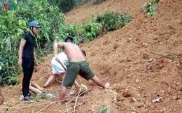 Giải cứu người đàn ông bị đất đá vùi lấp ở Lạng Sơn