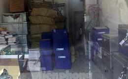 Cận cảnh nơi cất giữ tài liệu vụ gian lận điểm thi tại Hà Giang