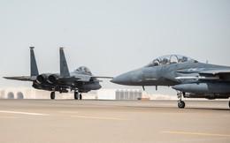 Tiêm kích Mỹ mang tên lửa tới Saudi Arabia