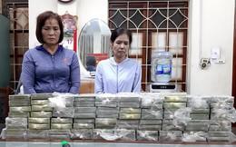 Bắt quả tang 3 phụ nữ đang giao dịch 80 bánh heroin