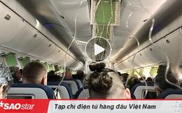 Hành khách 'sợ xanh mặt' khi máy bay lao xuống hơn 8.800 mét chỉ trong 7 phút