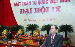 Ông Trần Thanh Mẫn tái đắc cử Chủ tịch UBTW MTTQ Việt Nam