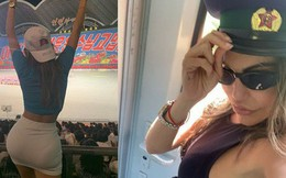 Người đẹp Brazil suýt bị bắt giữ vì bất chấp luật lệ, chụp ảnh khoe thân gợi cảm khi đi du lịch ở Triều Tiên
