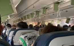 Máy bay đột ngột hạ độ cao, hành khách vội vàng nhắn tin trăng trối