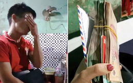 Chàng trai òa khóc khi được trả 200 triệu đồng bỏ quên trong quán ăn