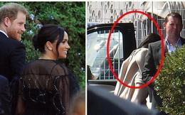 Meghan Markle vội vã quay về Anh, trở thành khách mời kém duyên nhất khi mặc đồ đen đi đám cưới, chiếm hết spotlight của cô dâu chú rể