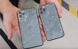 Trang bị kính bảo vệ 'bền nhất thế giới', iPhone 11 Pro vẫn vỡ tan nát khi thả rơi từ độ cao 1m