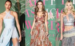 """3 thiên thần hot nhất Victoria's Secret đọ sắc trên thảm xanh: Đều trên 30 tuổi, 2 """"mẹ bỉm sữa"""" sao xuất sắc thế này?"""