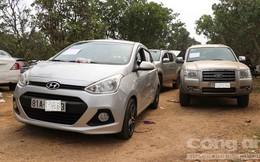"""18 ô tô tại hiện trường sới bạc của Hùng """"sida"""" chưa tìm được chủ"""