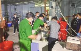 Thủ đoạn tinh vi của nhóm người Trung Quốc lập xưởng, sản xuất ma tuý