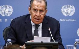 Ngoại trưởng Nga: Tuyên bố của Mỹ thay đổi tùy theo tâm trạng