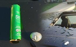 Chai dầu gội khô bất ngờ phát nổ tung nóc xe ô tô và hiểm họa từ những vật dụng tưởng không nguy hiểm ai cũng cần lưu tâm