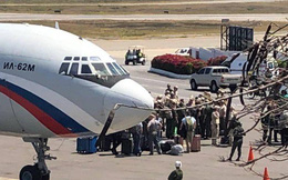 Máy bay quân sự Nga tiếp tục hạ cánh xuống Venezuela