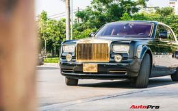 Khám phá Rolls-Royce Phantom độ phiên bản rồng, mạ vàng giá 15 tỷ tại Hà Nội