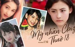 Nhan sắc 29 minh tinh đình đám năm 18 tuổi: Angela Baby - Dương Mịch chạy dài trước Lê Tư - Trương Bá Chi