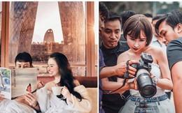 """Quên chuyện """"mượn"""" ảnh photoshop sống ảo đi, Minh Nhựa và Mina Phạm có hẳn ekip siêu to khổng lồ đi shooting chuyên nghiệp đây!"""