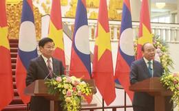 Việt Nam - Lào nhất trí giải quyết tranh chấp ở Biển Đông bằng các biện pháp hòa bình