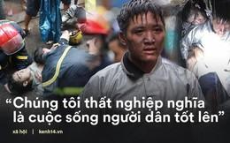 """Chiến sĩ PCCC lao vào đám cháy cứu nam thanh niên 17 tuổi: """"Tôi không phải người hùng, vì mình tôi không thể cứu sống em ấy"""""""
