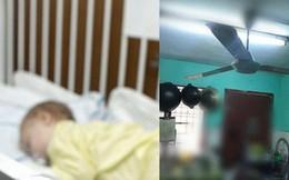 Bé gái 6 tháng tuổi chết thương tâm sau trò chơi tung hứng của cha dượng với chiếc quạt trần đang chạy