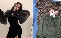 Thêm pha mua hàng online khiến dân tình cười ngất: Biết em thích váy sexy, chị ship ngay bộ đồ ở nhà hình chuột Mickey đây nhé!