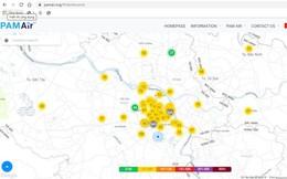 Chỉ số ô nhiễm không khí giảm thế nào sau 'cơn mưa vàng' ở Hà Nội?