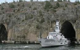 """Ngại """"đòn tấn công hạt nhân"""" của Nga, hải quân Thụy Điển dời vào lòng núi"""