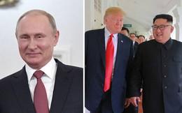 Ông Putin: Tổng thống Trump đáng được khen ngợi trong vấn đề Triều Tiên