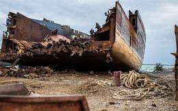 Cận cảnh nơi hóa kiếp những con tàu chở hàng khổng lồ