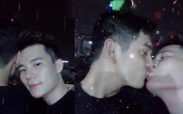 """Màn khóa môi đồng giới """"hot"""" nhất mạng xã hội của Sơn Ngọc Minh và bạn trai"""