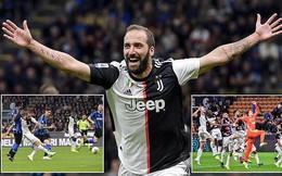 Ronaldo im tiếng, Dybala và Higuain giúp Juventus đánh gục Inter