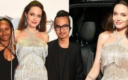 """Màn """"giá lâm"""" gây bão MXH Việt của Angelina Jolie: """"Tiên hắc ám"""" thần thái như nữ hoàng, nhan sắc lột xác bất ngờ"""