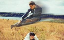 Hồn vía lên mây khi các phó nháy người Nga trổ tài photoshop ảnh cưới, báo hại gia chủ khóc dở mếu dở