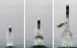"""Mỹ """"lạnh sống lưng"""" vì tên lửa đạn đạo phóng từ tàu ngầm thế hệ mới của Triều Tiên?"""
