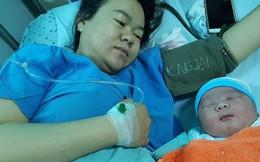 """Bé sơ sinh ở Quảng Nam có cân nặng """"khủng"""" tới 5,1 kg"""