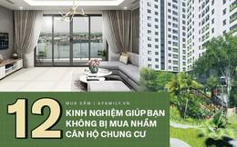 12 kinh nghiệm bổ ích được truyền lại từ những người đi trước dành cho ai đang có ý định mua chung cư