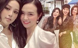 """Hội các chị đẹp """"trên bến dưới thuyền"""" của showbiz Việt: Có nhóm chơi với nhau đã 10 năm"""