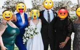 Họ hàng ăn mặc hở hang tới đám cưới, cô dâu tuyệt vọng nhờ dân mạng 'tút tát' lại ảnh để rồi nhận được thành phẩm cười ra nước mắt