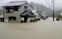 Nhật Bản ngụp lặn trong biển lũ do bão Hagibis