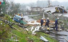 Nhật Bản sau bão Hagibis: Đường biến thành sông, nhà cửa đổ sập