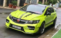 Honda Civic đời 2008 rao bán giá ngang Hyundai Grand i10, riêng danh sách 'đồ chơi' đã lên tới 300 triệu