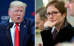 """Cựu nữ Đại sứ Mỹ ở Ukraine """"phản đòn"""",Trump đứng trước nguy cơ bị phế truất"""